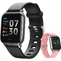 Reloj inteligente, Reloj Deportivo Bluetooth, Smartwatch para Hombre Mujer, Pulsera Deportiva Bluetooth para Android y…