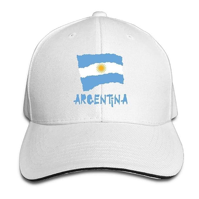 Adulto de época Vintage Argentina Bandera-01 PAPÁ Sombrero ...