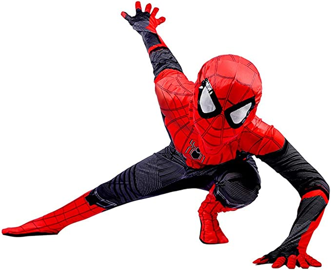Disfraz Spiderman Niño, Spiderman Disfraz Niño, Halloween Carnaval ...