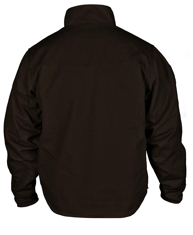 STS Ranchwear Western Jacket Boys Bridger Leather Chocolate STS8843