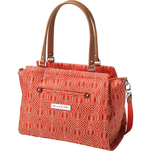 m Statement Satchel Diaper Bag in Paprika, Red ()