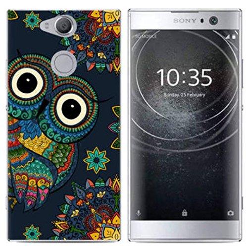 PREVOA Funda para Sony Xperia XA2 - Colorful Silicona TPU Funda Case para Sony Xperia XA2 Smartphone - 14 3