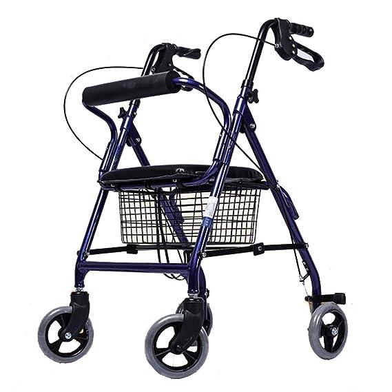 Walkers - Carrito de la compra ajustable para personas mayores ...
