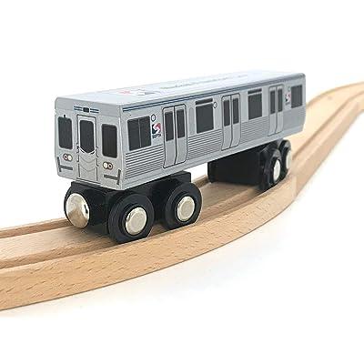 SEPTA Market-Frankford Line M-4 Rapid Transit Car: Toys & Games