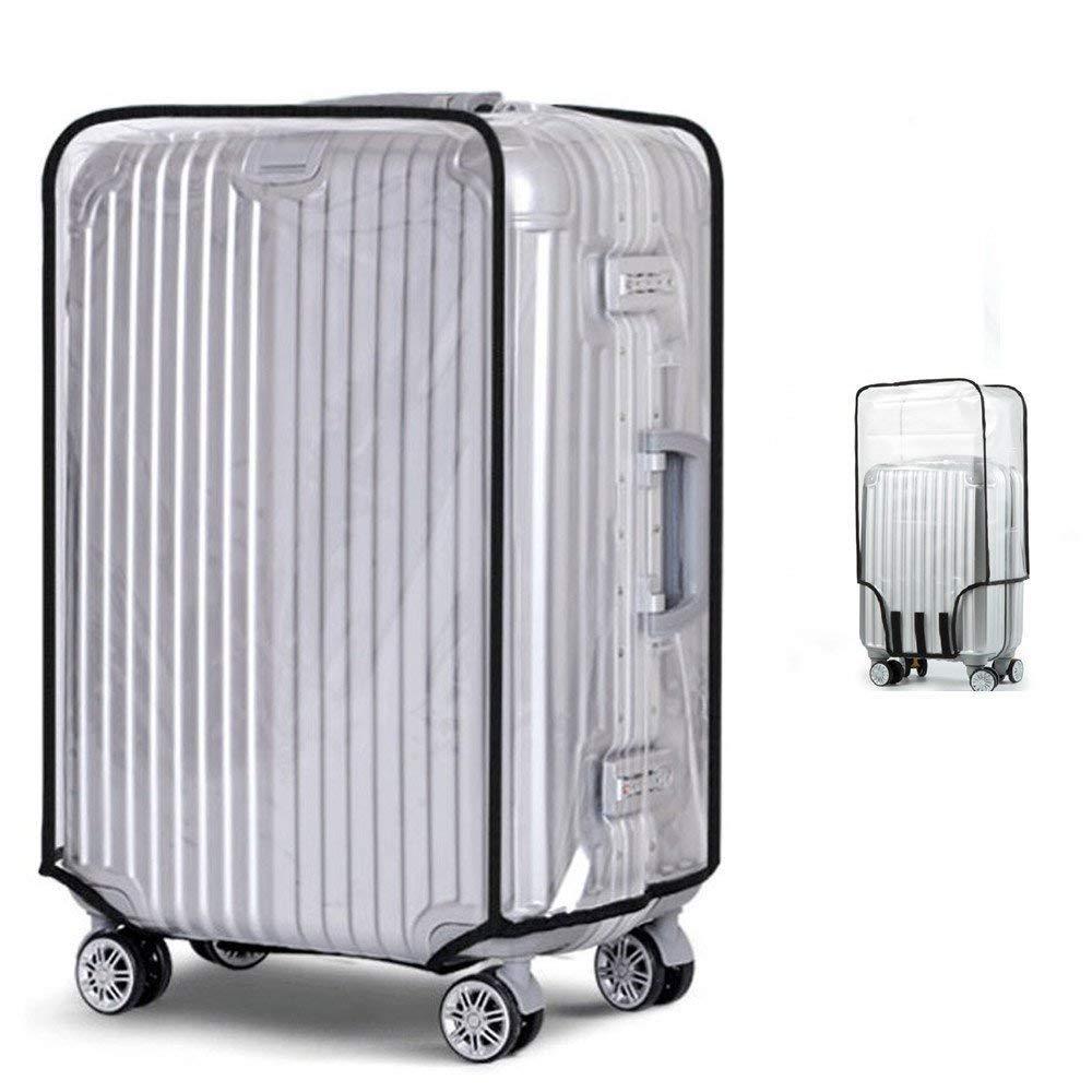 Bagage Protecteur Cas PVC Luggage Couverture Imperm/éable Valise Protecteur Couverture30 53cm L x 34cm W x 72cm H