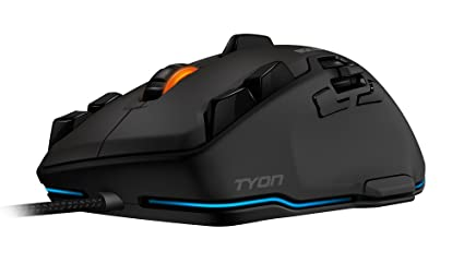 4b0175a4832 Amazon.com: ROCCAT Tyon Black - All Action Multi-Button Gaming Mouse ...