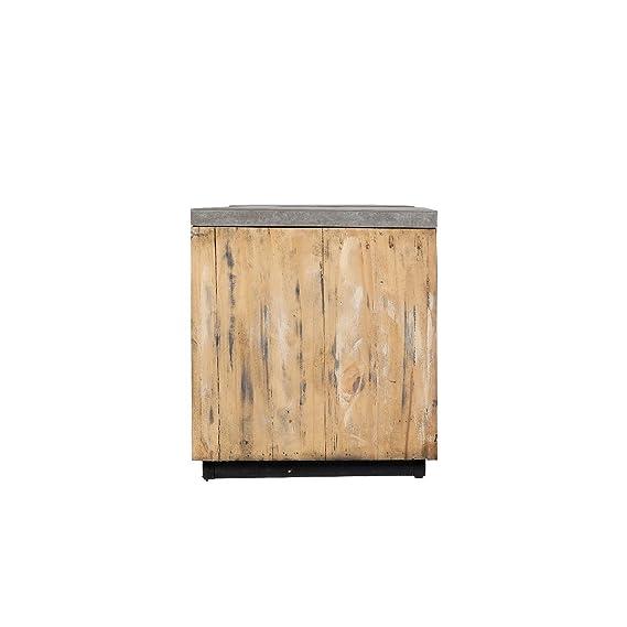 Amazon.de: greemotion 130554 2 in 1 Sitzbank mit Pflanzkübel aus ...