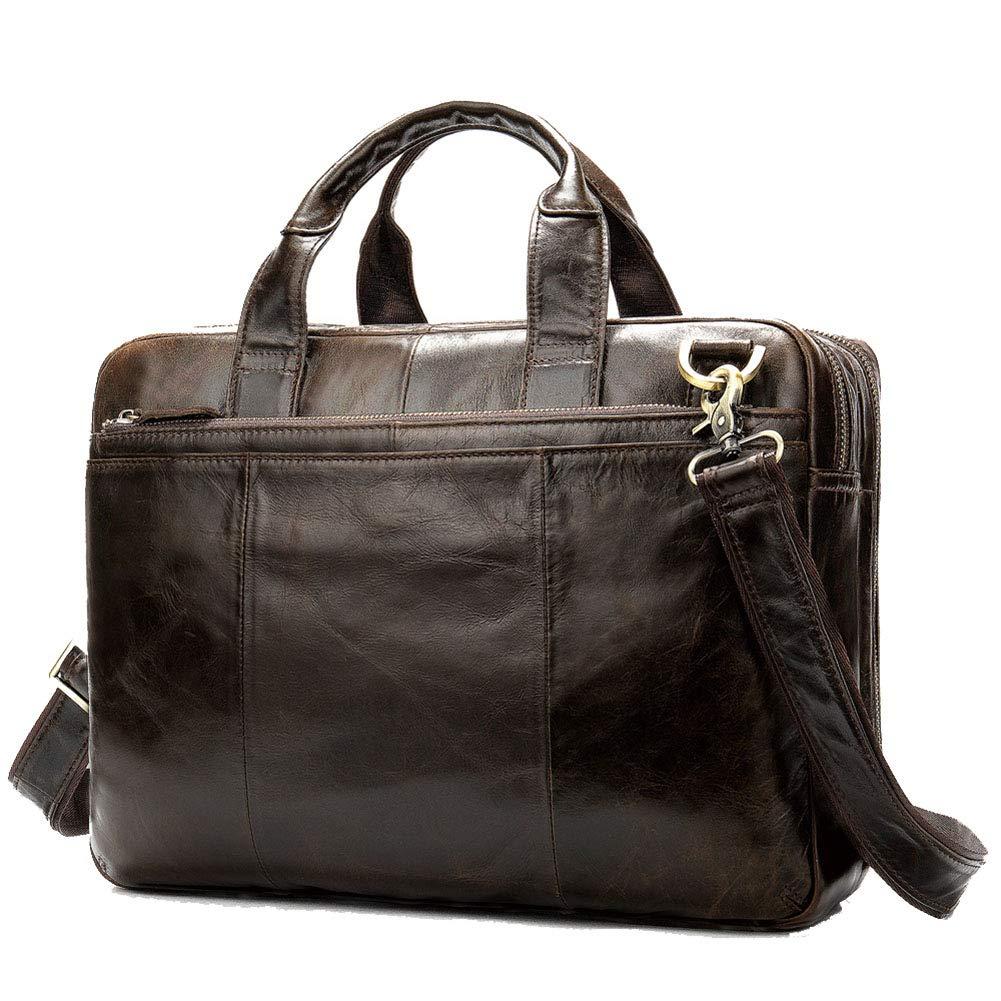 メンズビジネスブリーフケース、カジュアルファッションショルダーバッグ、ハンドバッグ、ラップトップバッグ、メッセンジャーバッグ B07SSRKB8X