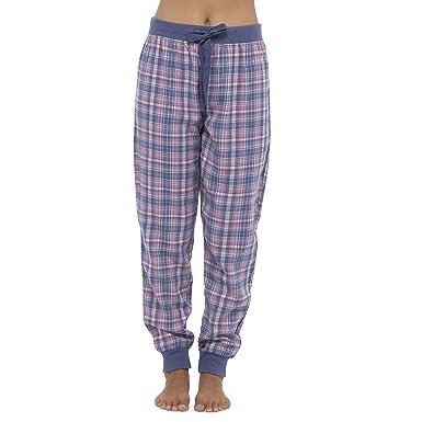 deebb5cd76 Foxbury Ladies Woven Check Lounge Pants Trousers  Amazon.co.uk  Clothing