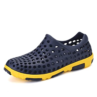 Men's Light Comfortable Breathable Summer Sandals Anti-Slip Sports Clog Shoes
