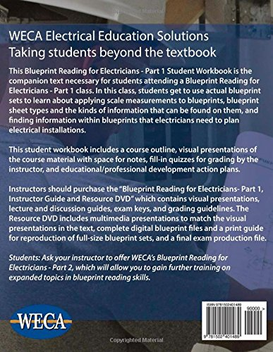 Blueprint reading for electricians part 1 student workbook western blueprint reading for electricians part 1 student workbook western electrical contractors association 9781502401489 amazon books malvernweather Image collections