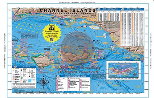 Baja Directions, Inc. Southern California Fishing Maps