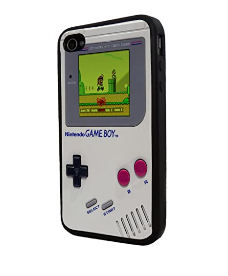 watch d10aa 8350d Amazon.com: NINTENDO Game Boy Funny Iphone 4/4s Case, Iphone Cover ...