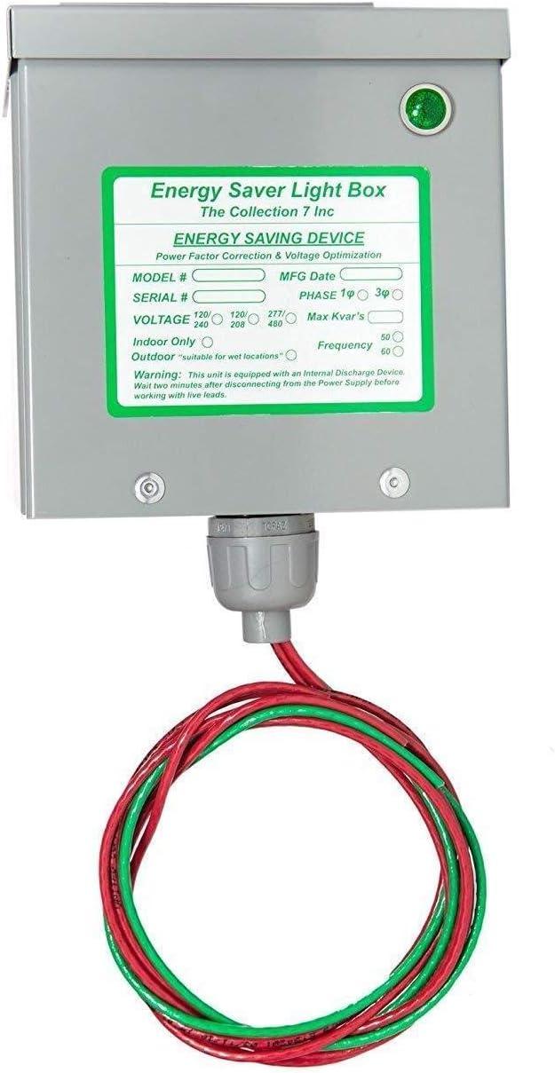 KVAR Energy Saver 1200 Electricity Saving Device /& Surge Protector 200 Amp