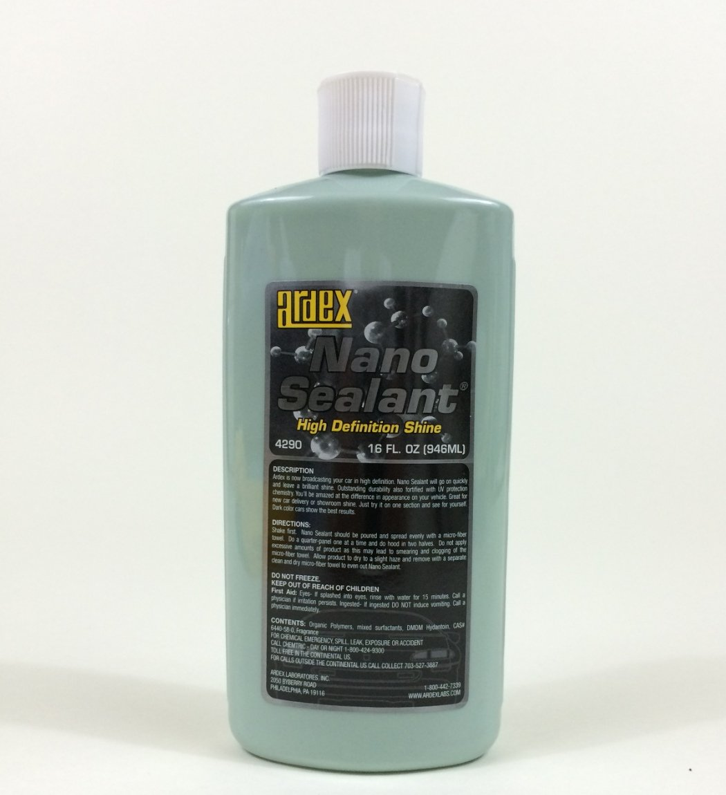 Ardex Nano Wax Sealant - Auto Detailing - Broadcast Your Car In High Definition Ardex Labs 4209