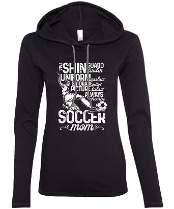 e1e73e696 Amazon.com  Soccer is My Passion Ladies  LS Hoodie