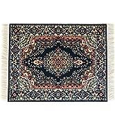 Blue Oriental Rug Mouse Pad - Turkish Style Carpet Mousemat