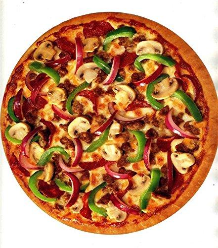 Pizza Hut Menu 1997 Slice The Price Coupon Round Pizza