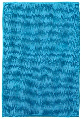Ikea Toftbo Tapis De Bain 60x90cm Turquoise Microfibre Extra Doux A Sechage Rapide Amazon Fr Cuisine Maison