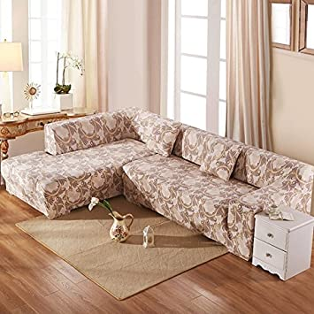 Buy Pinkdose Polyester L-Shaped Sofa Cover Online at Low ...
