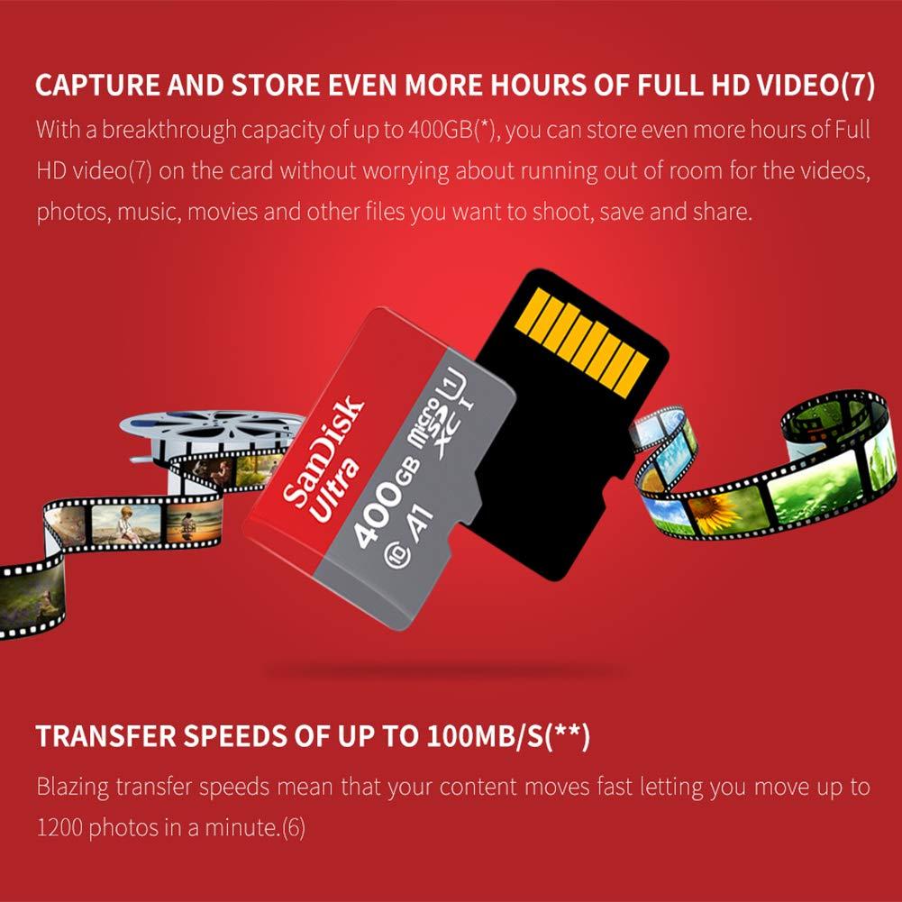 JIAX Tarjeta de Memoria 400GB 256GB 200GB 128GB 64GB 98MB ...
