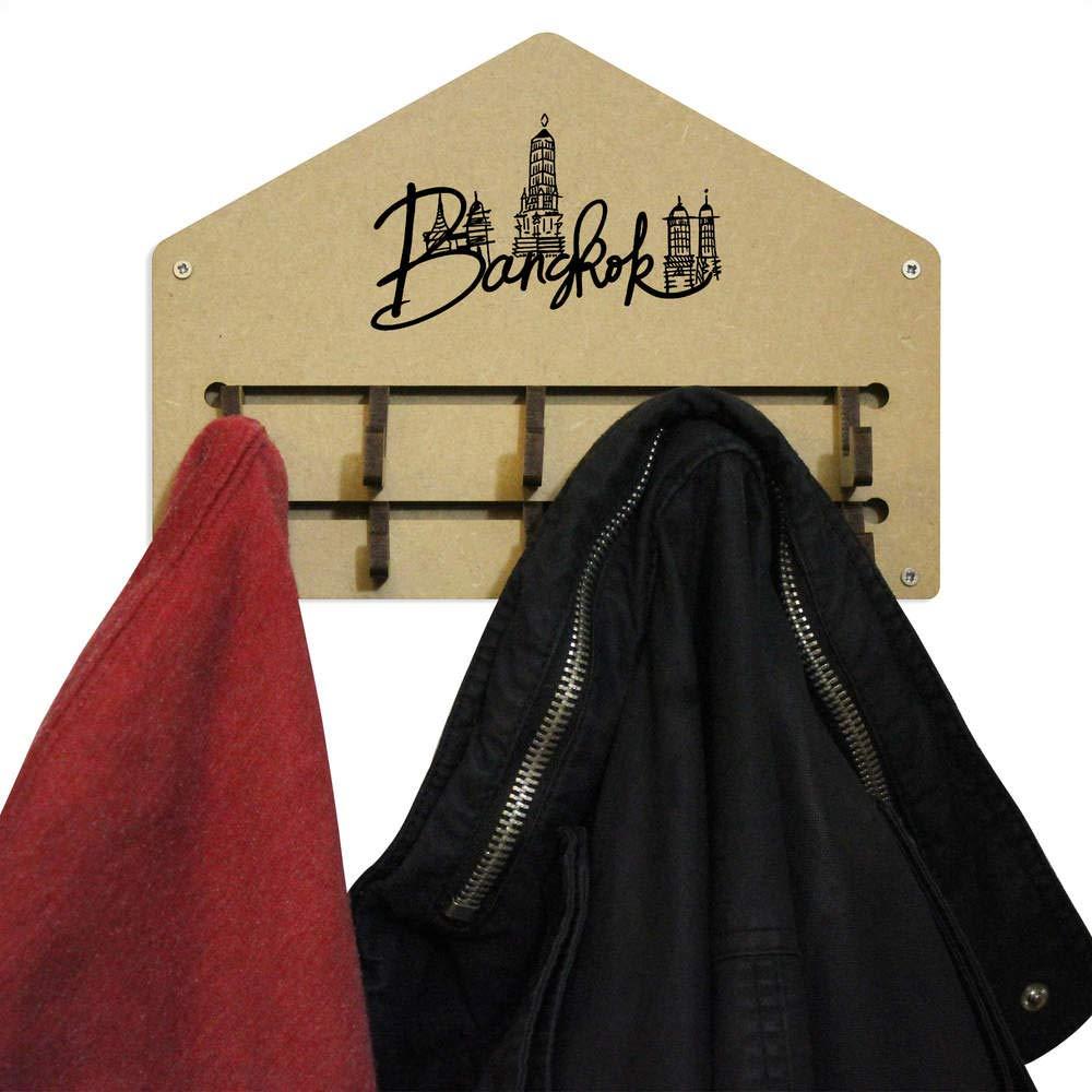 Gestell Bangkok An der Wand befestigter Kleiderhaken WH00023996