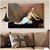 KONGQTE Seinfeld Poster Canvas Painting George Louis Costanza The Timeless Art of Seduction Wall Art for Living Room…