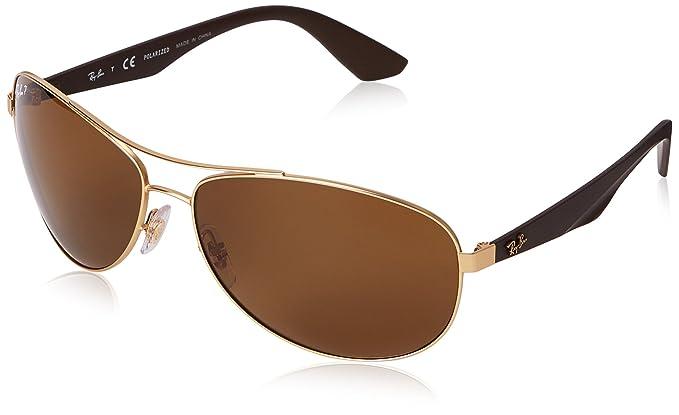 Ray-Ban Gafas de sol Active MATTE GOLD, 63: Amazon.es: Ropa ...