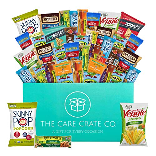 The Care Crate Healthy Snacks Care Package for