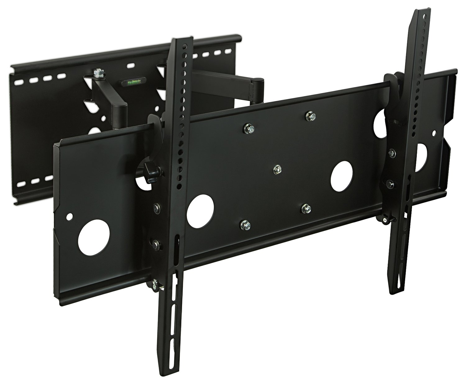 MI-310B24 Articulating Dual Arm TV Wall Mount for 32-60-inch LCD, Plasma  and LED TVs with extended back plate suitable with 24