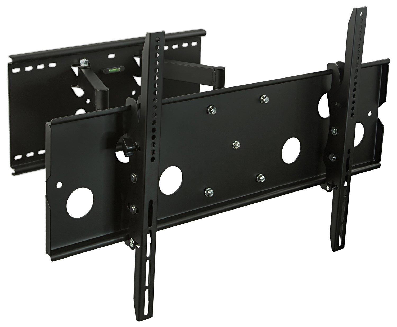 Mount-It! MI-310L Full Motion TV Wall Mount Bracket Heavy-Duty Articulating Corner Stand for 50 55 60 65 70 In