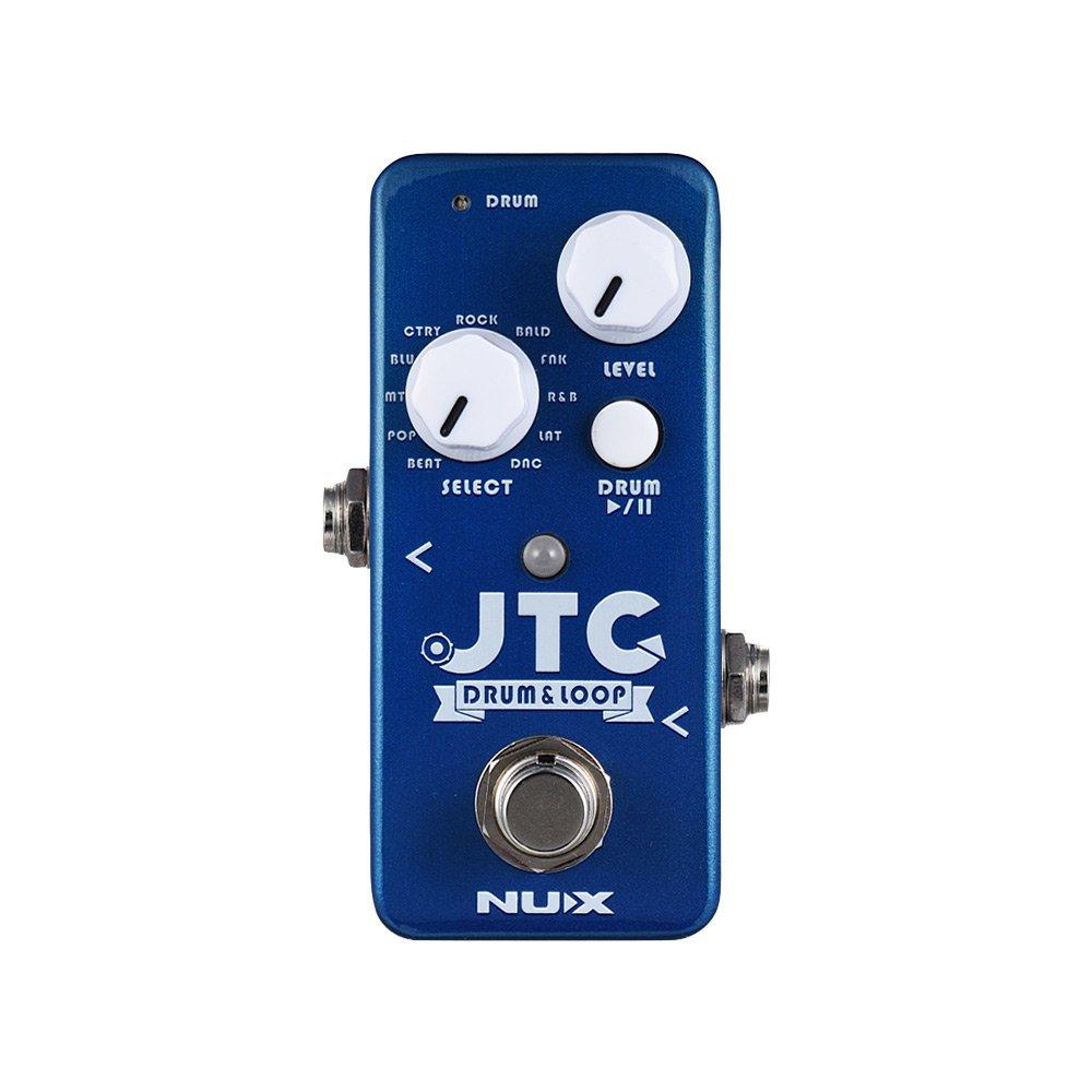 Muslady Gitarreneffektpedal Drum & Loop 6 Protokoll Aufzeichnung Zeit 10 Trommel Rhythmen Clever Zapfhahn Tempo Trommel Maschine NUX NDL-2 JTC