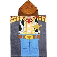 CERDÁ LIFE'S LITTLE MOMENTS Toalla Poncho Infantil con Capucha de Woody Playa, Multicolor, 50 x 115 cm