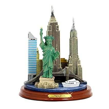 "New York City Line 123 piece 3D Puzzle over 16/"" tall NYC Brand New"