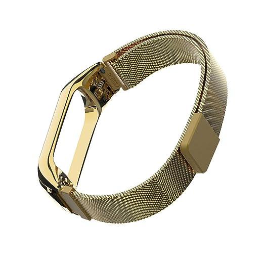 para Xiao mi Band 3 Pulsera Reloj, Correa de Reloj milanesa ...