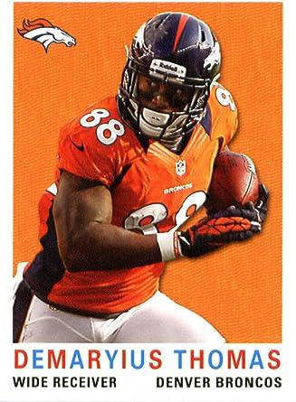 2017 Score #41 Demaryius Thomas Denver Broncos Football Card