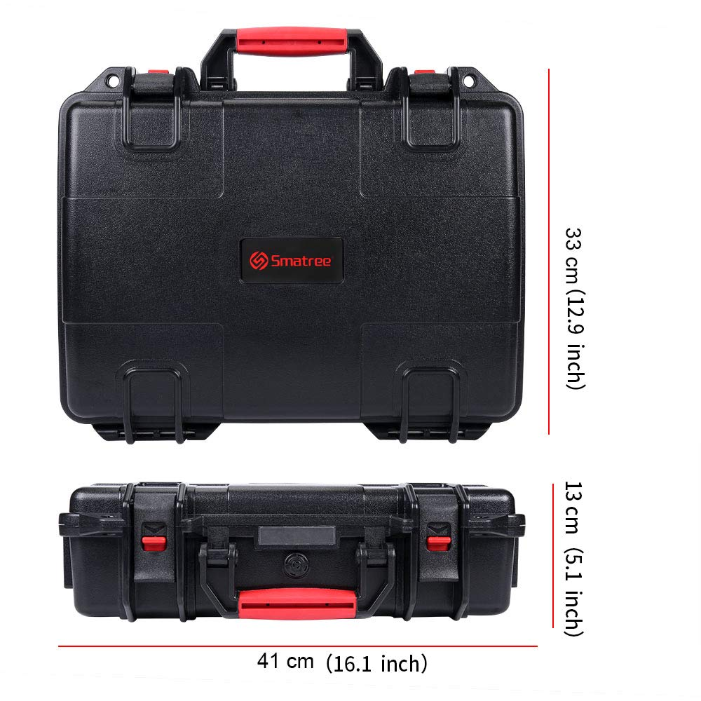 Smatree Carrying Case Compatible with DJI Mavic 2 Pro/DJI Mavic 2 Zoom and DJI Smart Controller by Smatree (Image #6)