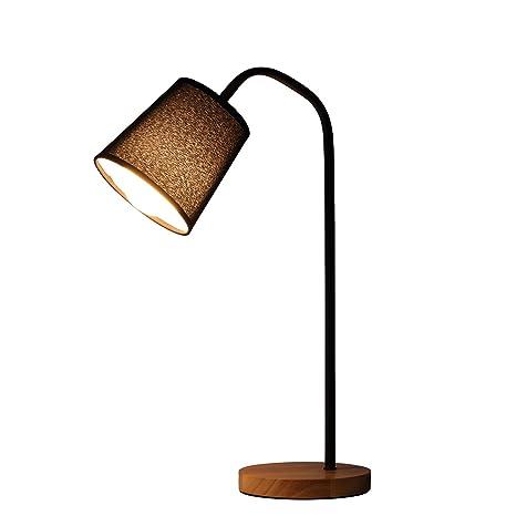 Amazon.com: Moderno lámpara de mesa de hierro forjado ...