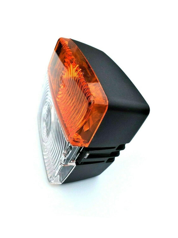 2x Blink-Positionsleuchte Traktor Schlepper Oldtimer Blinklicht Universal SET