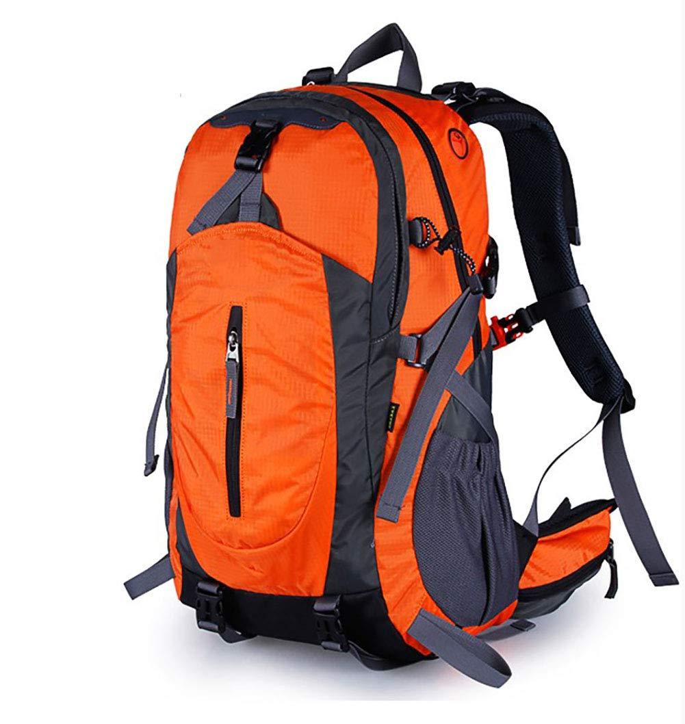 AY-MBJDFX 40L / 50L旅行用バックパック、 防水性と耐引裂性に優れたオックスフォード生地、 旅行/レジャー/ビジネス/仕事のバックパック、 ライト登山バッグ (色 : Orange, サイズ さいず : 50L) B07GWRX54Z 50L Orange Orange 50L