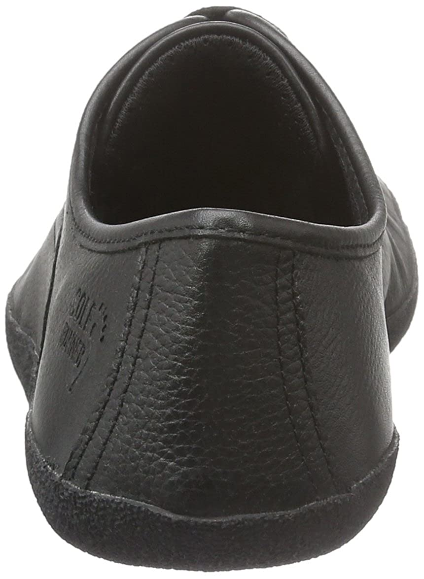 Sole Runner 210615 - Tobillo bajo de Cuero Unisex Adultos, Color Negro, Talla 43 EU: Amazon.es: Zapatos y complementos