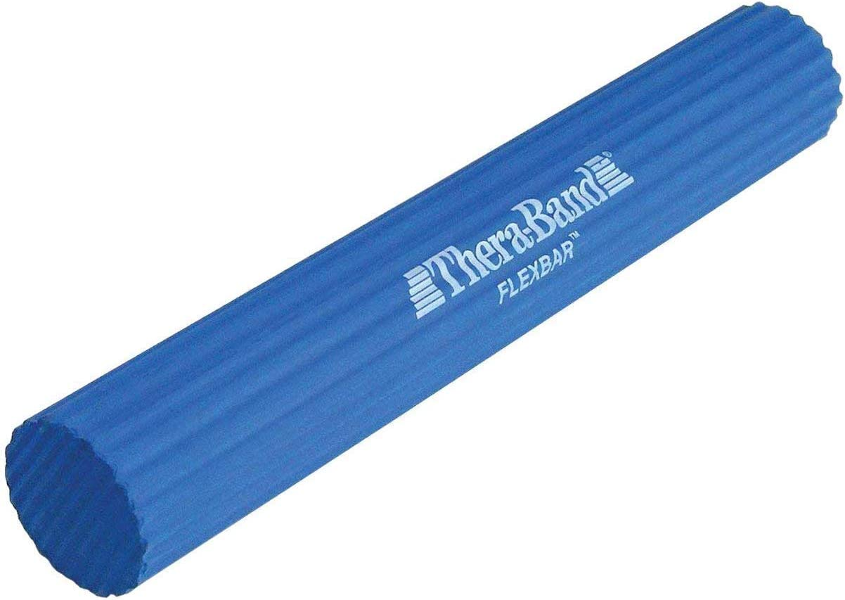 TheraBand FlexBar, Tennis Elbow Therapy Bar, Relieve Tendonitis Pain & Improve Grip Strength, Resistance Bar for Golfers Elbow & Tendinitis, Blue, Heavy, Advanced: Sports & Outdoors
