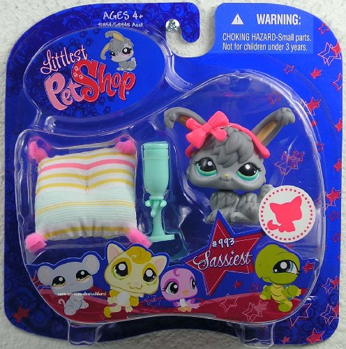 (Hasbro Littlest Pet Shop Assortment 'B' Series 3 Collectible Figure Bunny )
