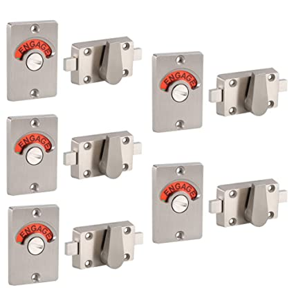 Fine Amazon Com Fdit Latch Indicating Lock Stainless Steel Bolt Interior Design Ideas Clesiryabchikinfo
