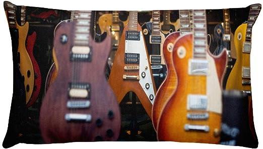 ArthuereBack The Gibson Funda de Almohada para Guitarrista ...