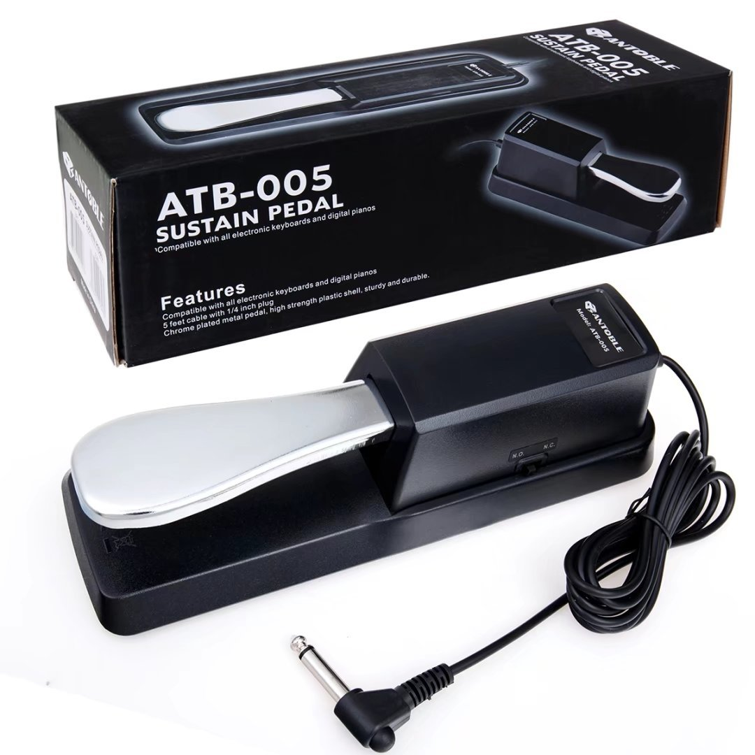 ANTOBLE Sustain Pedal Piano Style compatible with Yamaha YPG-235//YPG-535//YPT-230//YPT-330 Keyboards