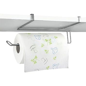 top home solutions sotto mensola armadio da cucina rotolo di carta assorbente dispenser