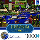 The Canadian Group Heronim Holiday Boat Parade Puzzle Collection (1000 Piece)