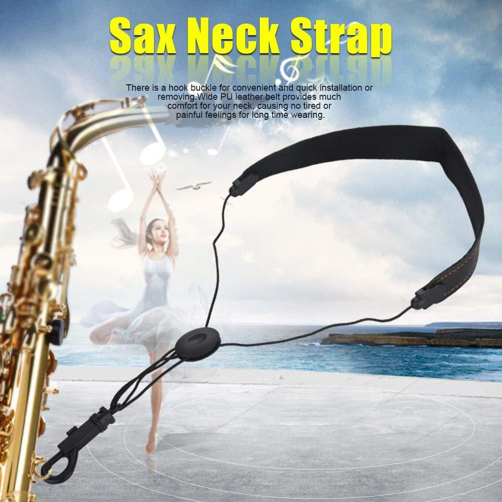 Correa de Cuello de Saxofón Ajustable Correa de Hombro de Saxofón ...