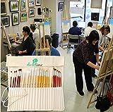 Daveliou Paint Brush Holder - 24 Slot Artist